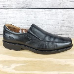 ECCO Loafer Leather Shock Point Slip on shoes …